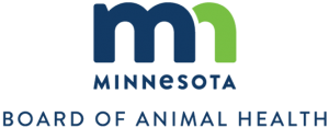 Minnesota Board of animal Health vertical logo