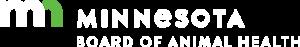 Minnesota Board of Animal Health logo (reverse)